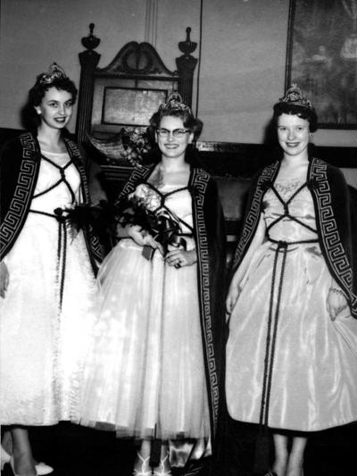 Blast from the Past / 1959: Job's Daughters court gathers