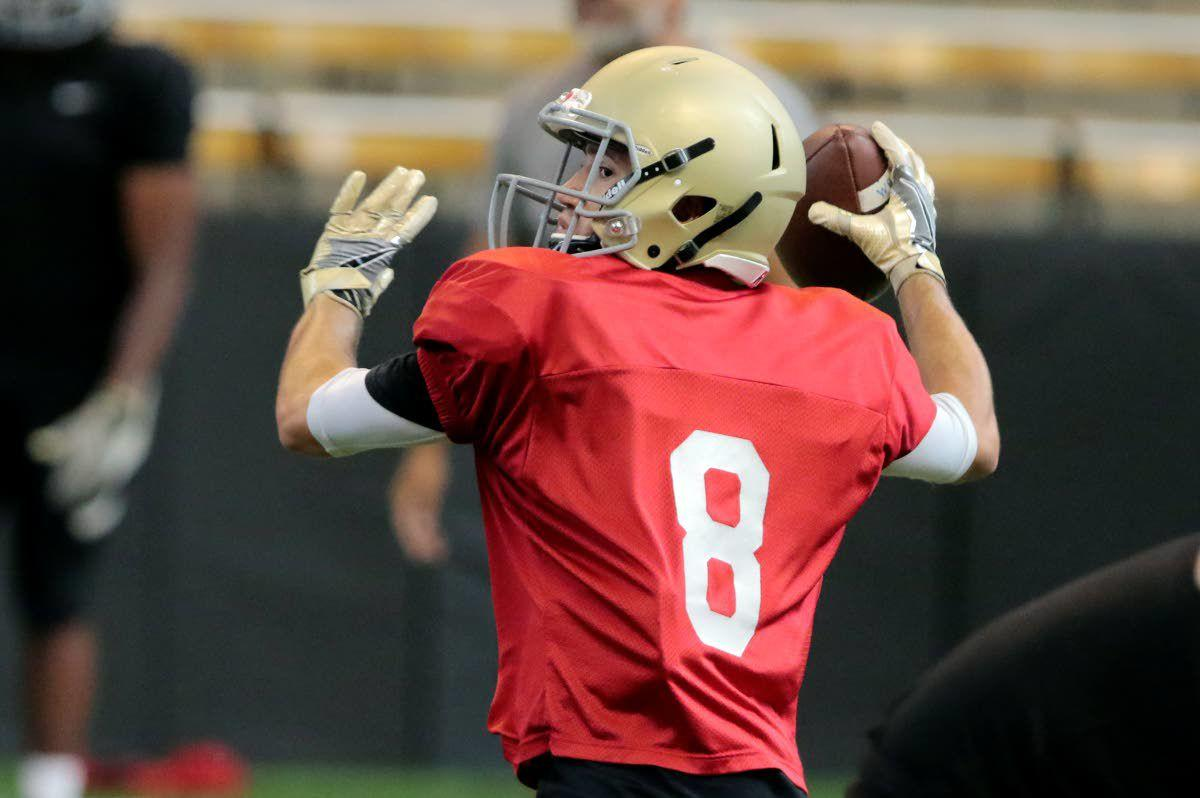 Plenty of players shine during UI scrimmage