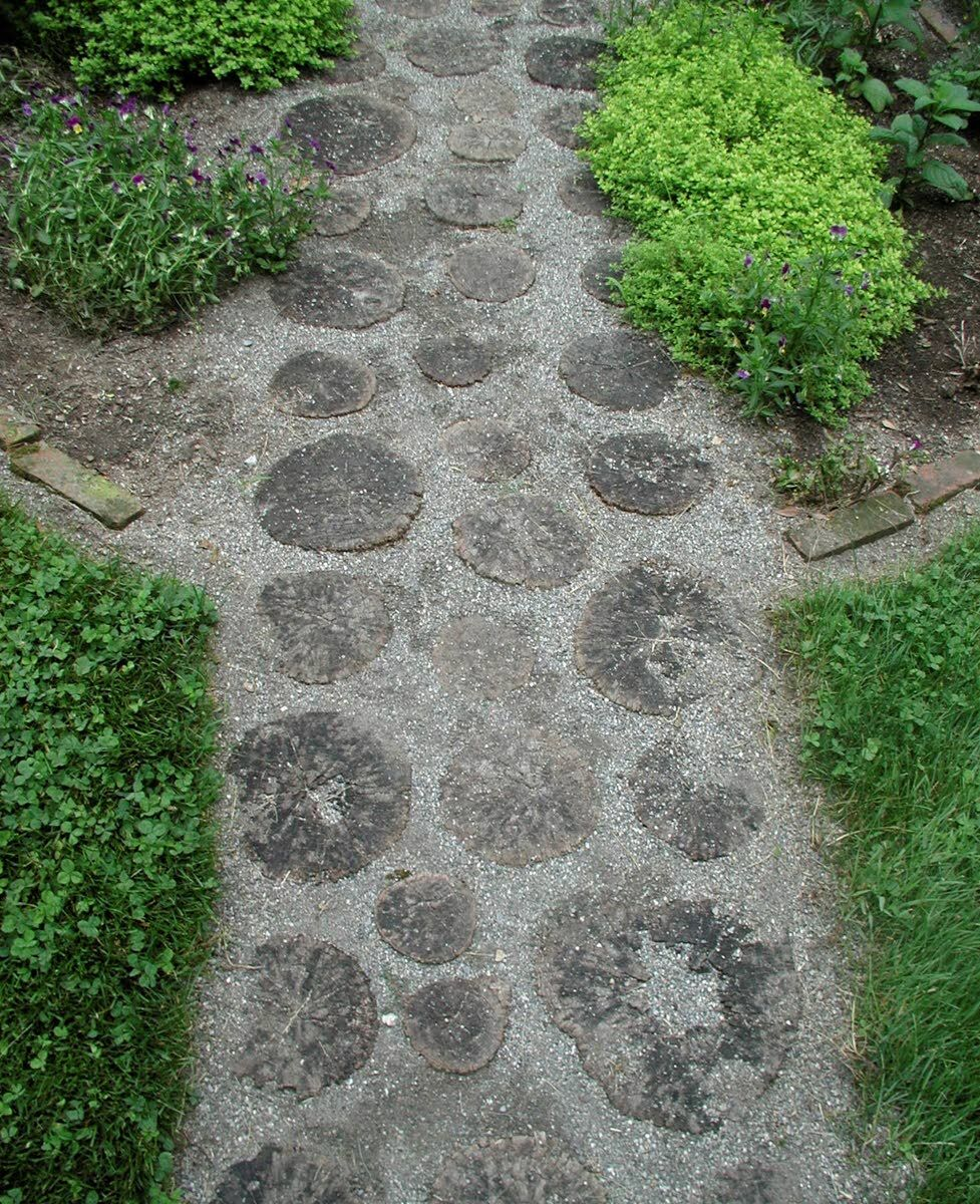 Walkways add beauty and function to the garden