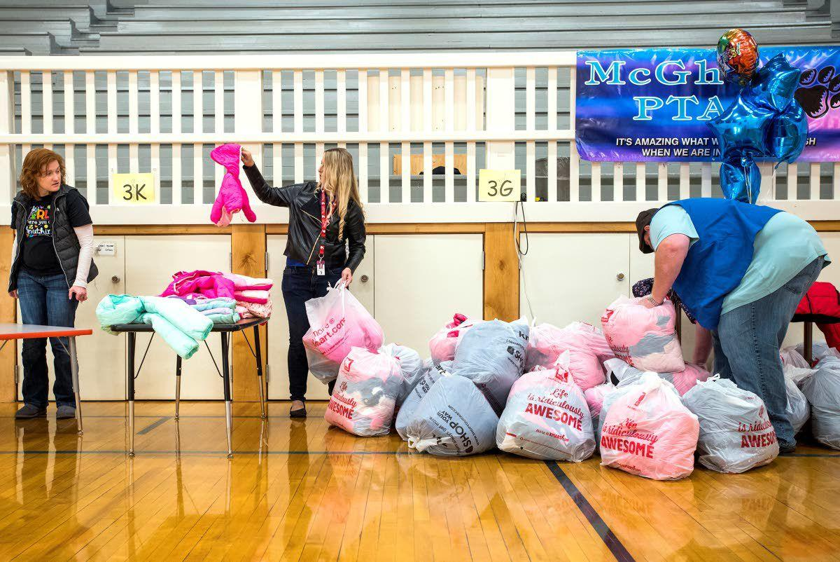 Knights of Columbus delivers coats for kids