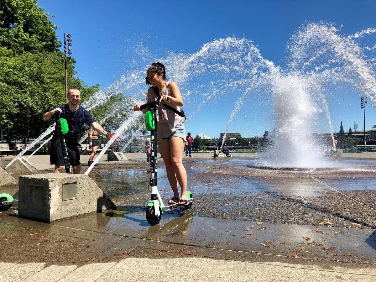 Washington, Oregon, see record-breaking heat