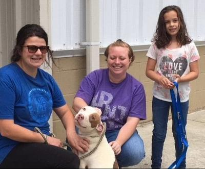 Family reunited with dog a year after he was stolen, police say