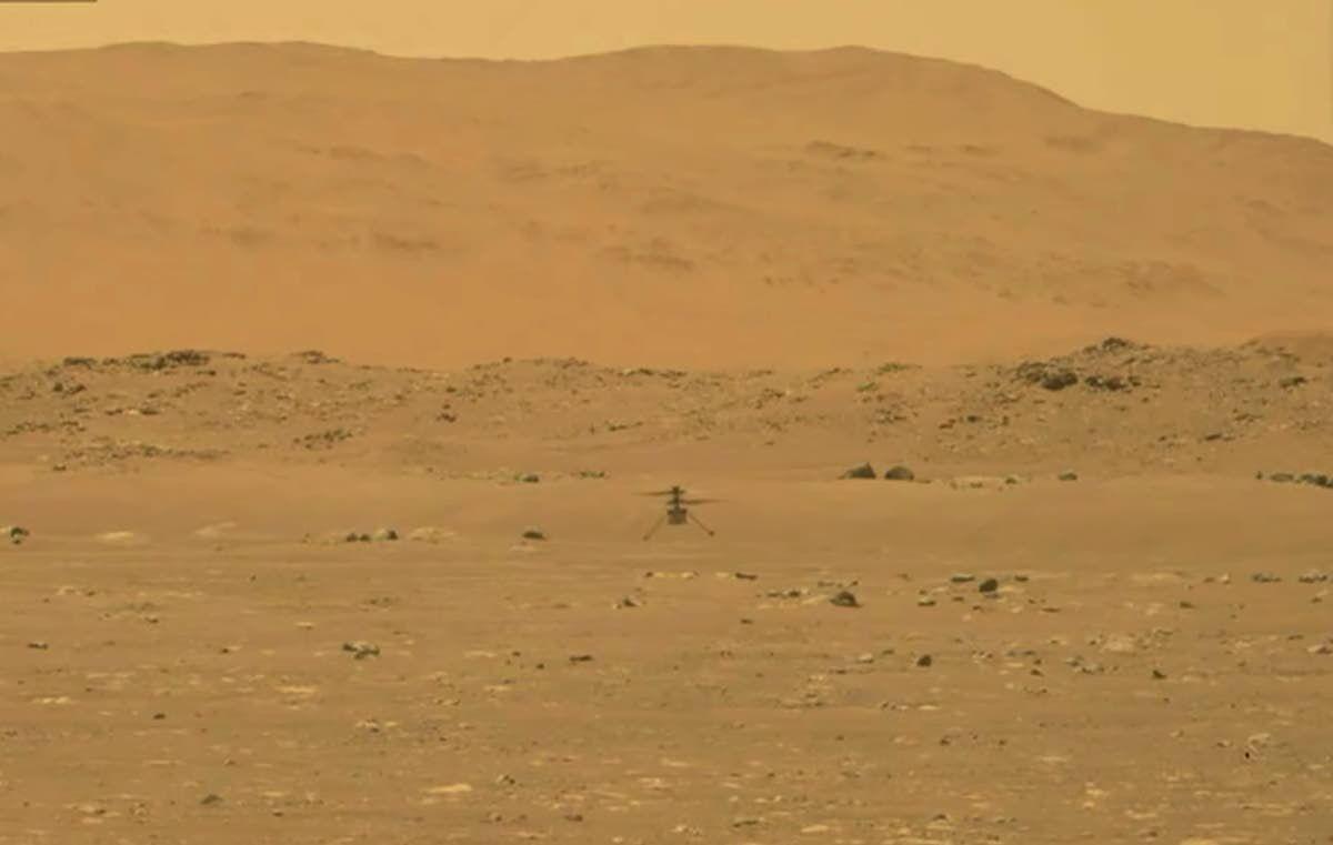 Marking a magical Martian moment