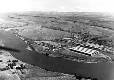 Blast from the Past / 1948: PFI as seen from the air