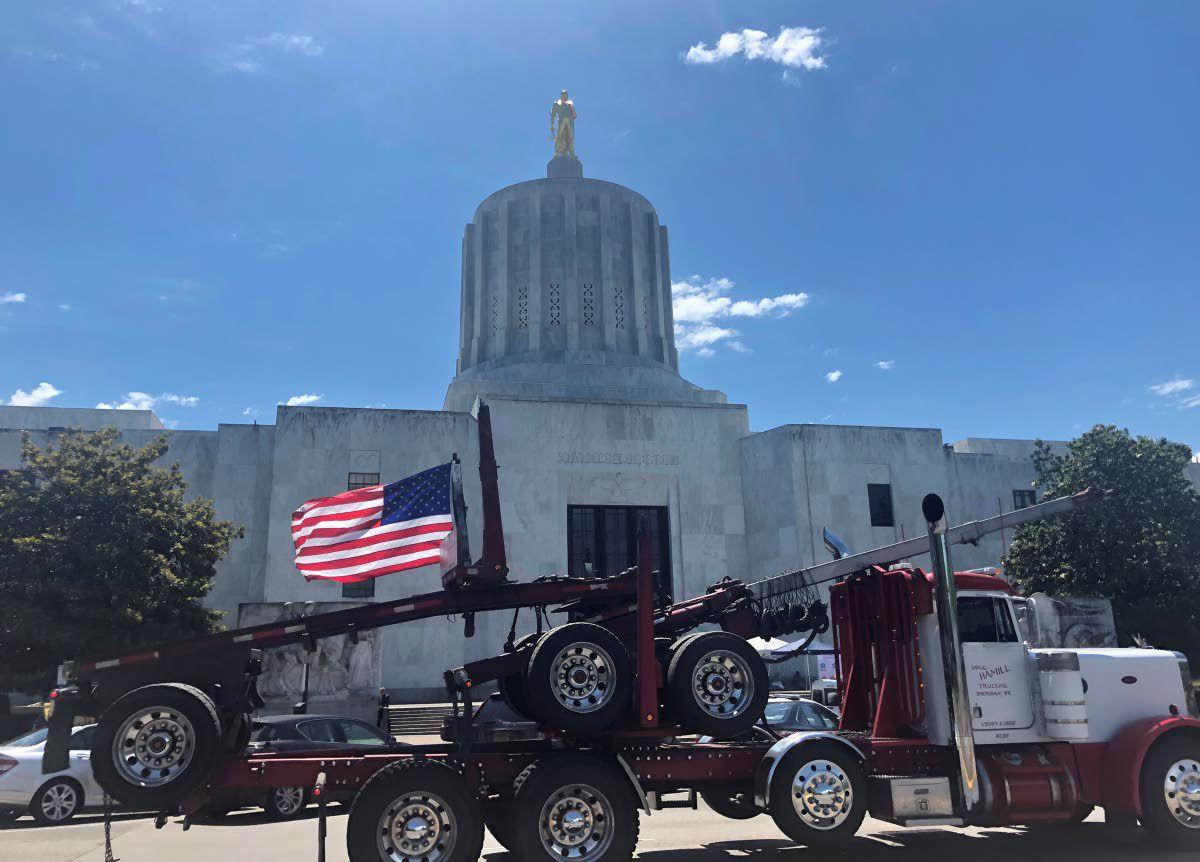 Truckers, loggers push back on Oregon's climate proposals