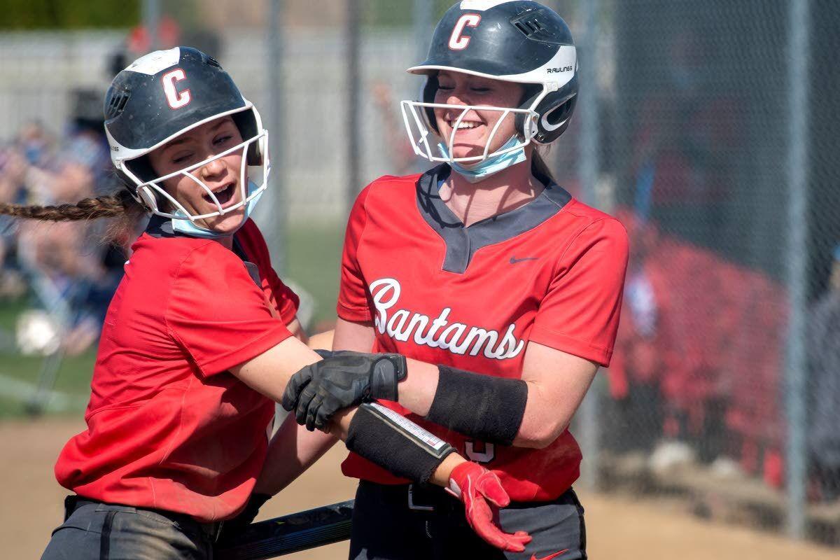 Clarkston, Pullman split GSL softball doubleheader
