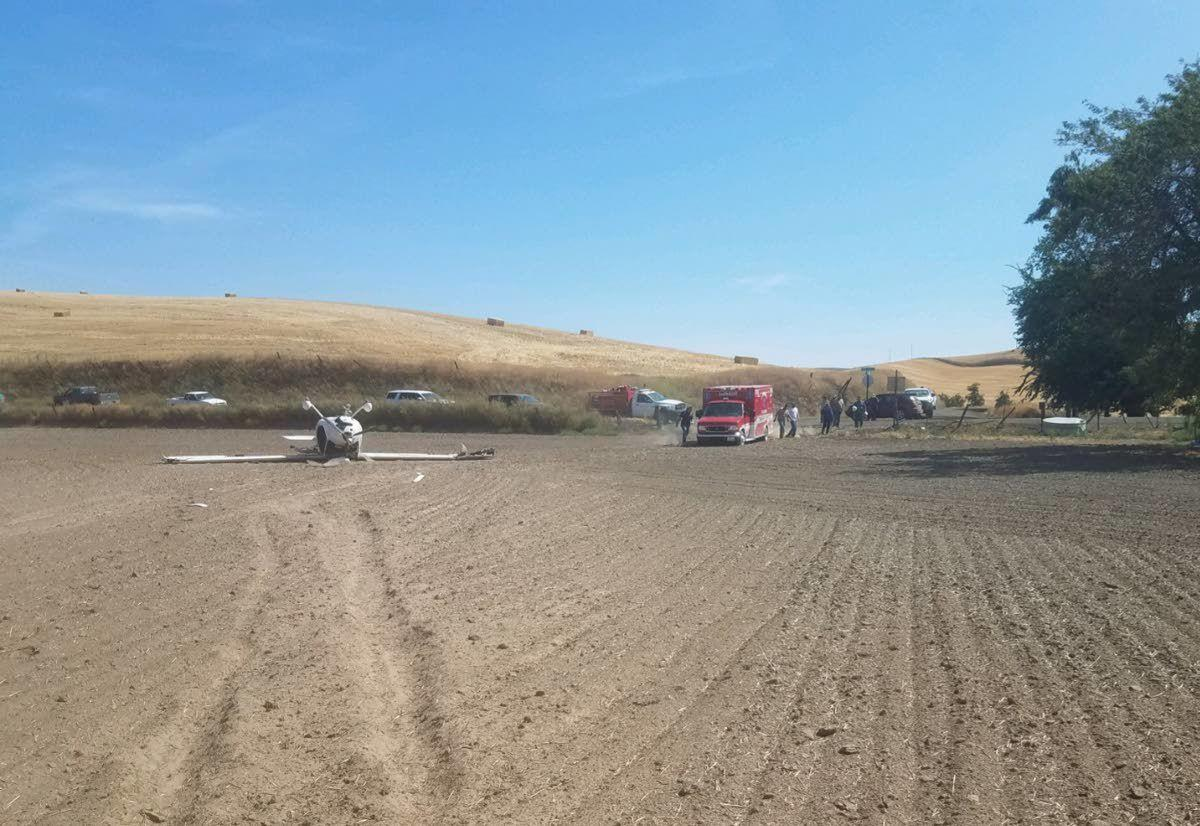 Plane crash near Palouse Falls sends occupants to hospitals