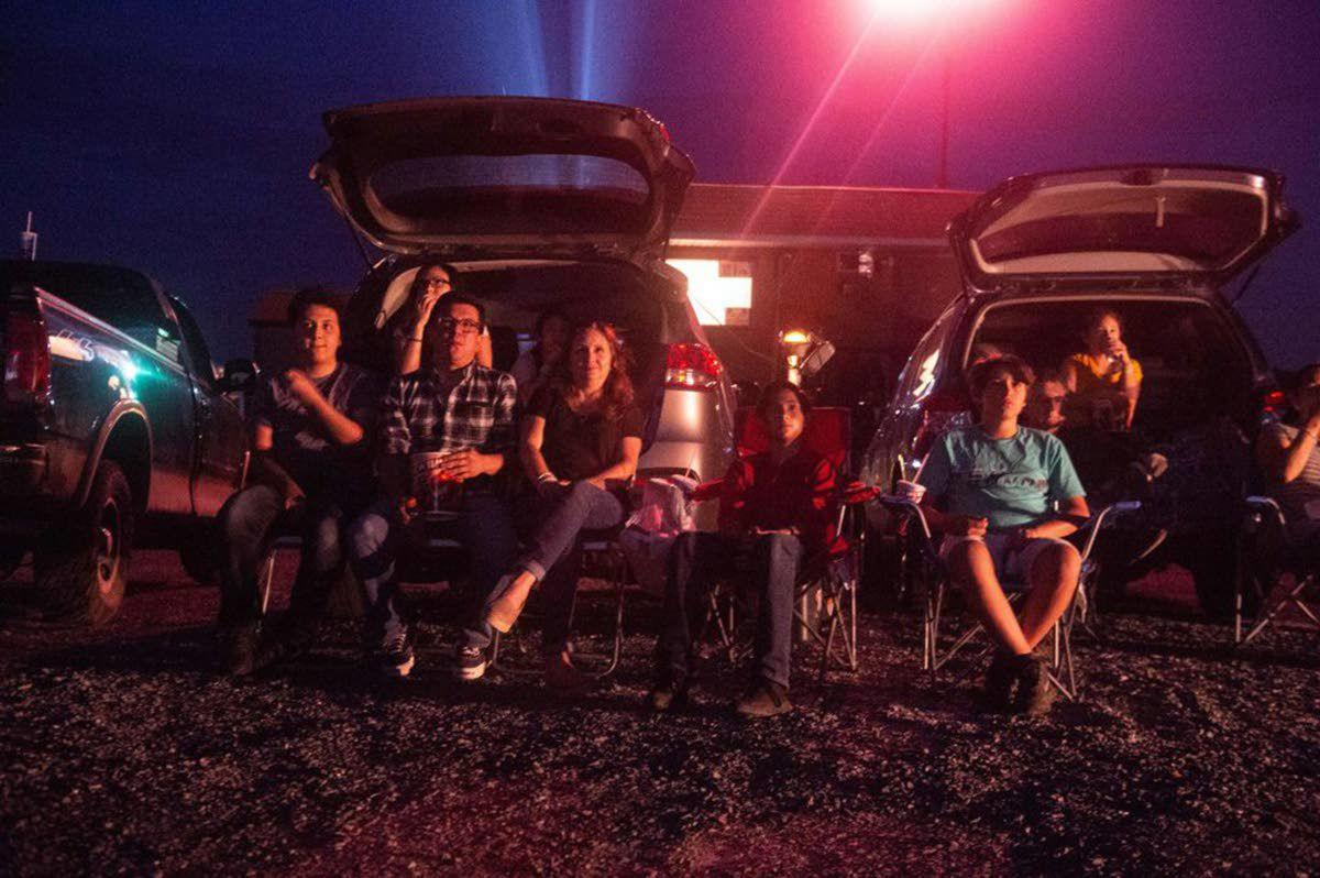 The drive-in movie is a summer classic