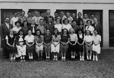 Blast from the Past / 1954: Orchards Elementary sixth graders