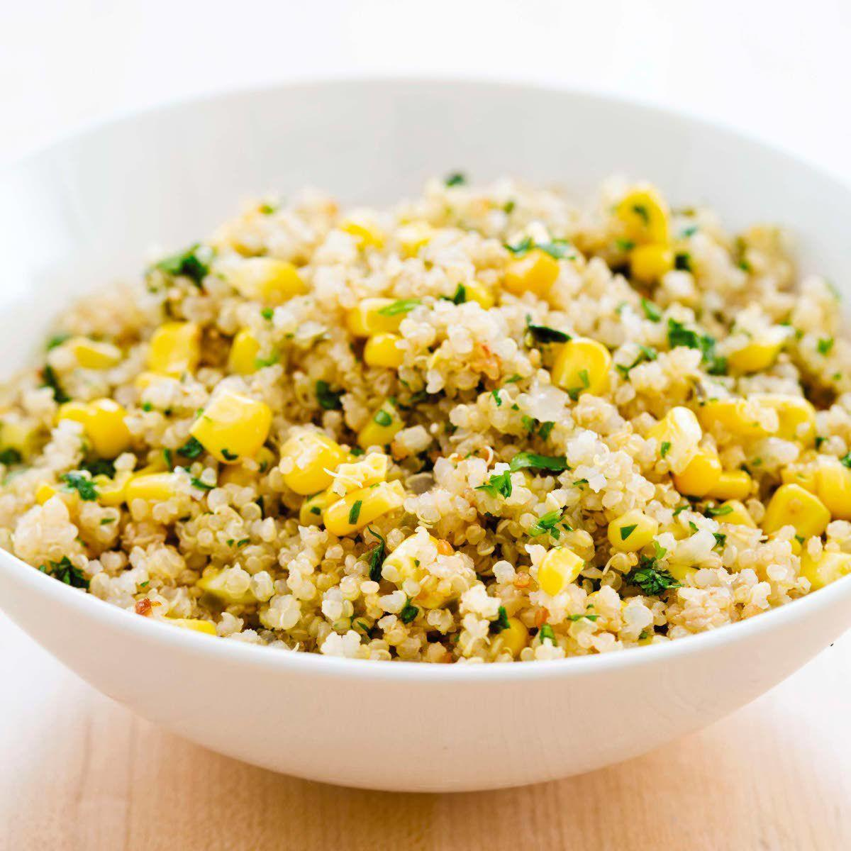 Quinoa is great in slow-cooker side