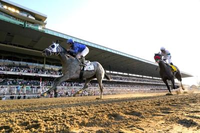 Cox-trained favorite wins at Belmont