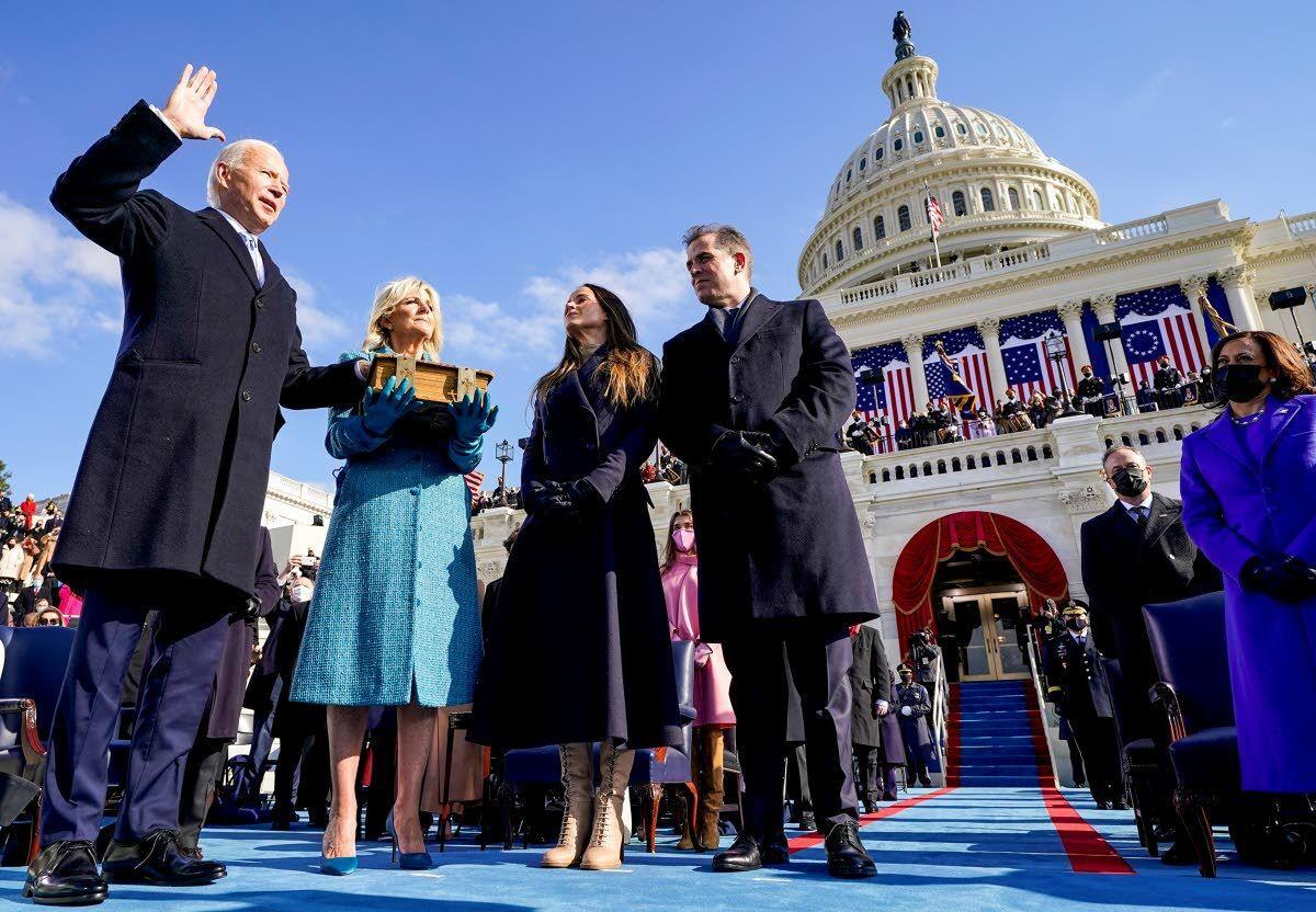 Joe Biden: 'This is democracy's day'