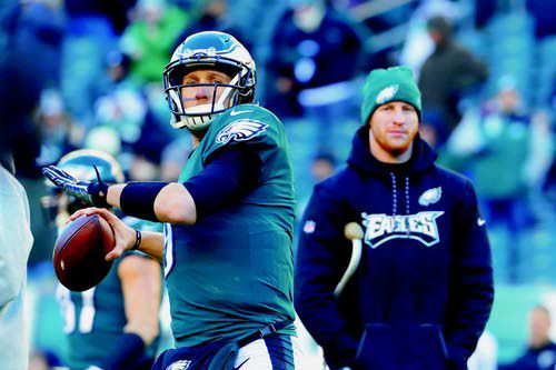 bb89b30f505 Nick Foles' father thinks the QB was always destined to return and lead the Eagles  to the NFL's promised land
