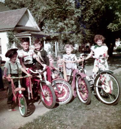 Blast from the Past / 1951: A good day for a kids bike parade