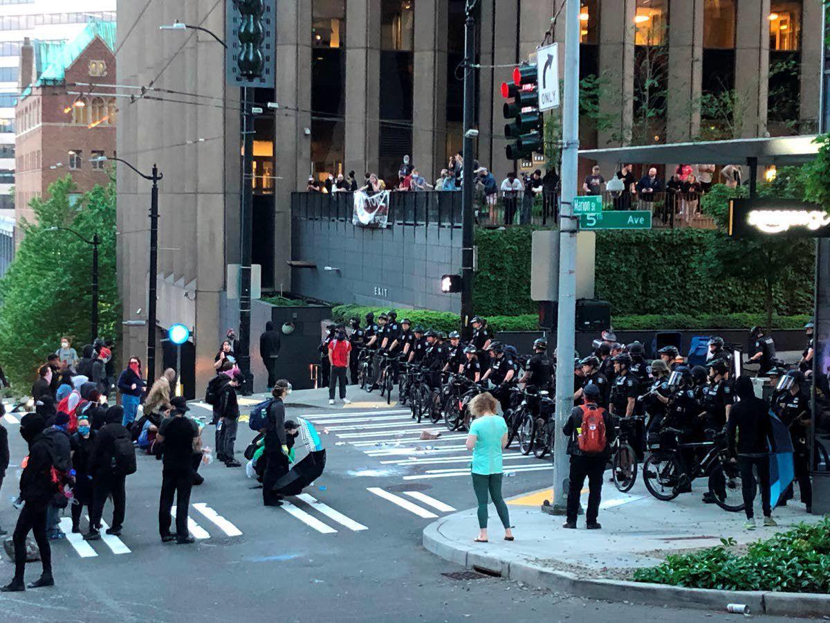 Rioting brings curfews in Seattle, Portland