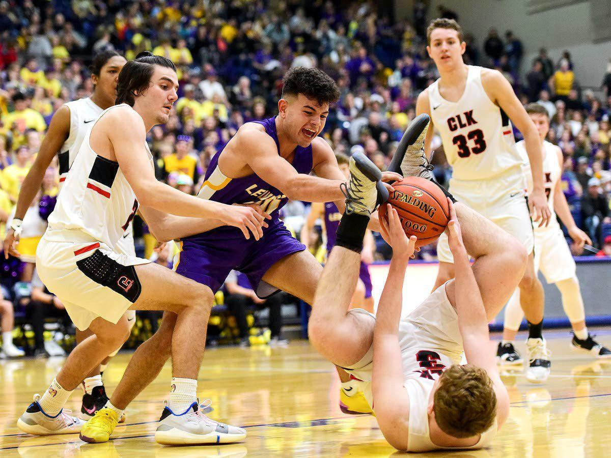 Clarkston's Throne sweep capped by win in boys' game, spirit competition