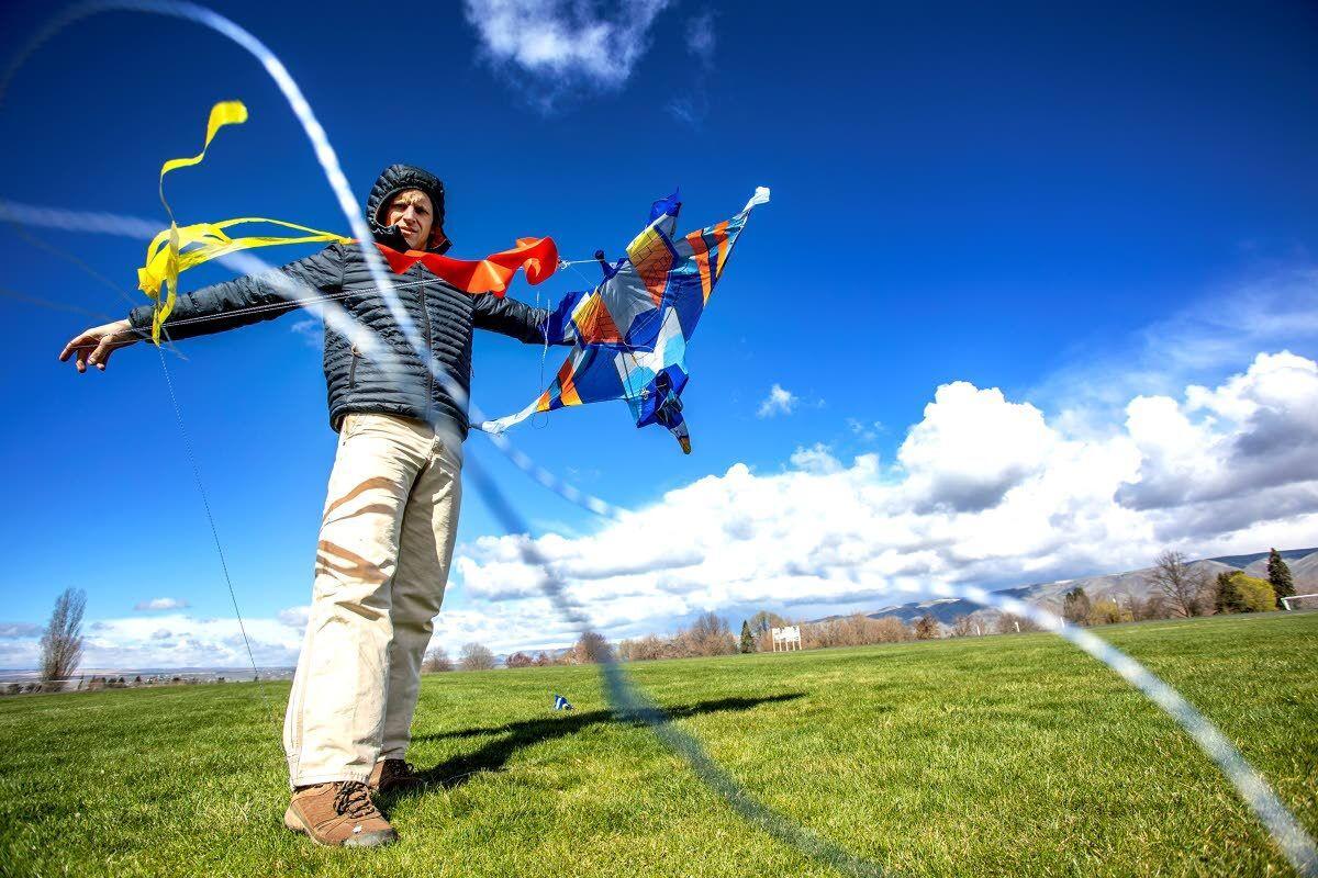 Kite flying follies