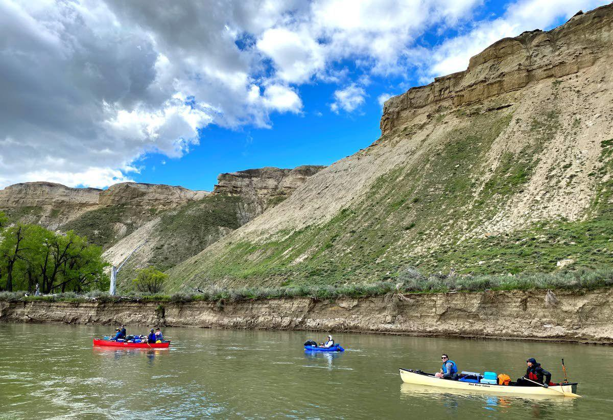 It's remote, but Marias River is a paddler's hidden gem