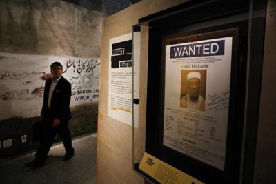 Exhibit takes visitors inside hunt for bin Laden