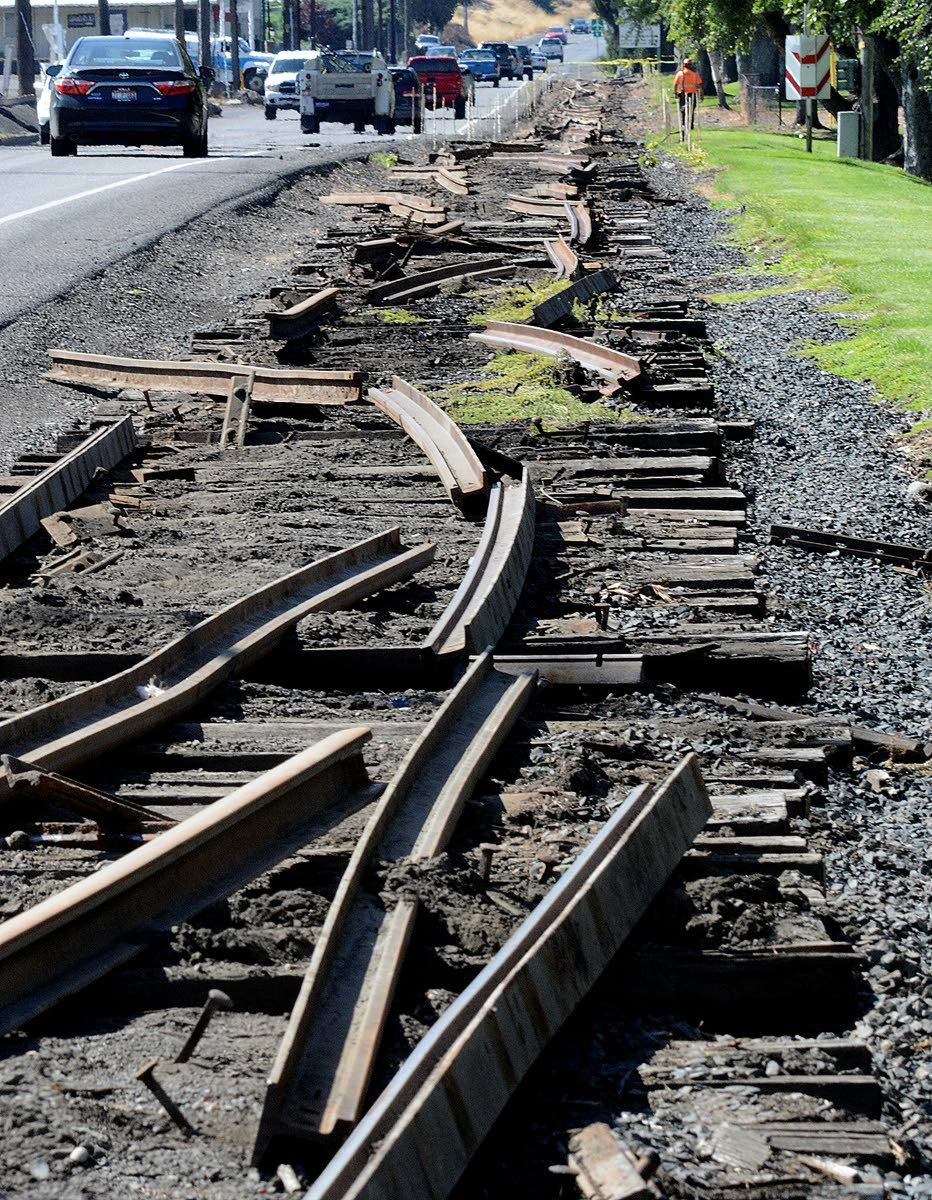 They've been working on the railroad