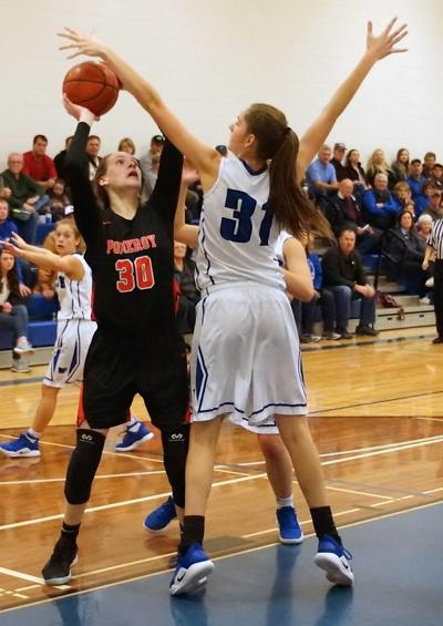 Dixon named 1B girls' athlete of the year
