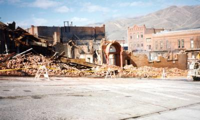 Blast from the Past / 1994: Reduced to rubble