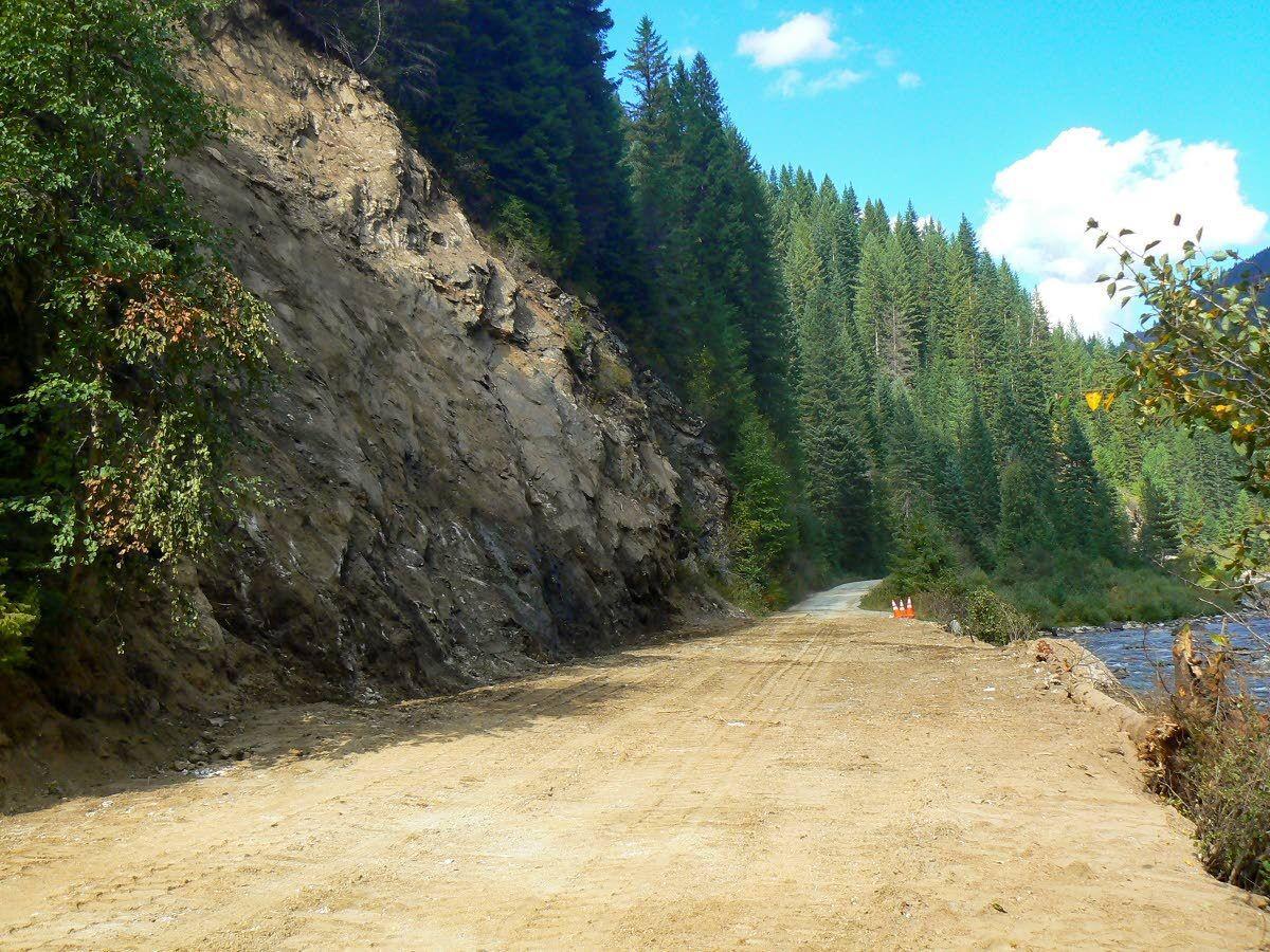 Landslides cleared; forest roads reopen