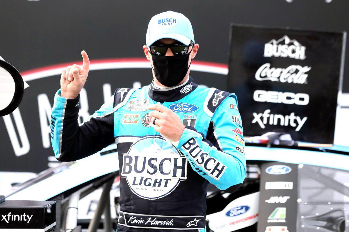 Harvick wins a stock-car race unlike any other