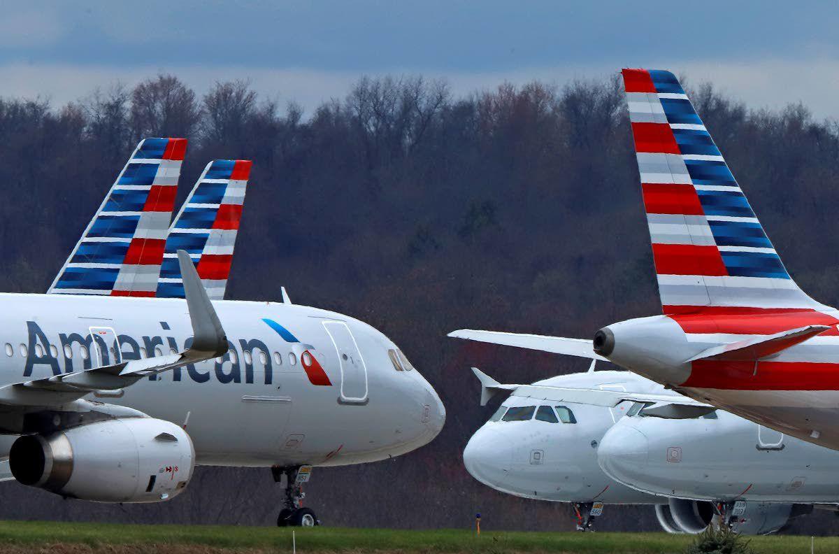 American Airlines booking full flights next week