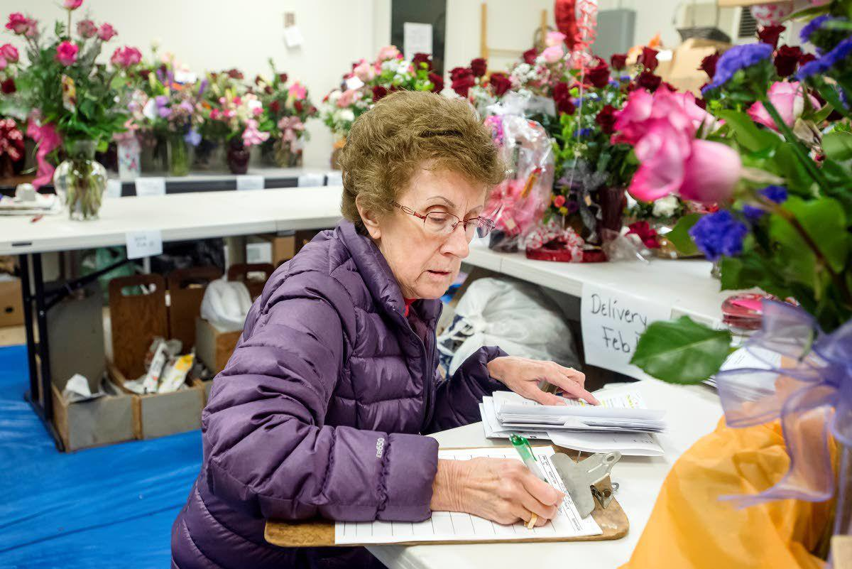 Business is blooming for area florist