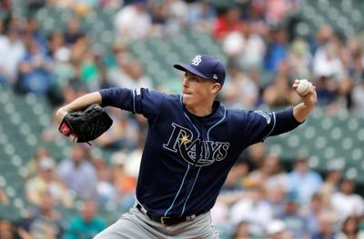 Ex-M's pitcher Yarbrough flirts with complete game