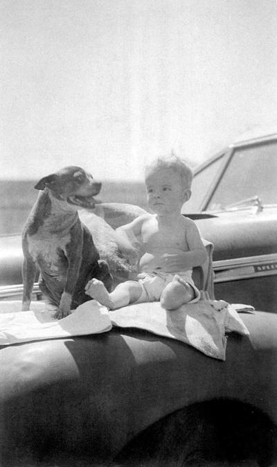 Blast from the Past / 1942: A boy, a dog and a car