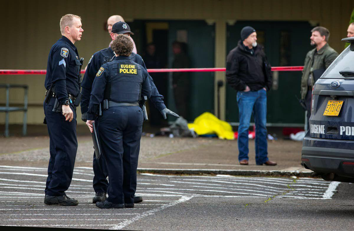 Police Kill Armed Man At Oregon School Northwest Lmtribune Com Kip kinkel, now 36, killed his parents, set their home on fire and went to thurston high school, killing two students and wounding. police kill armed man at oregon school