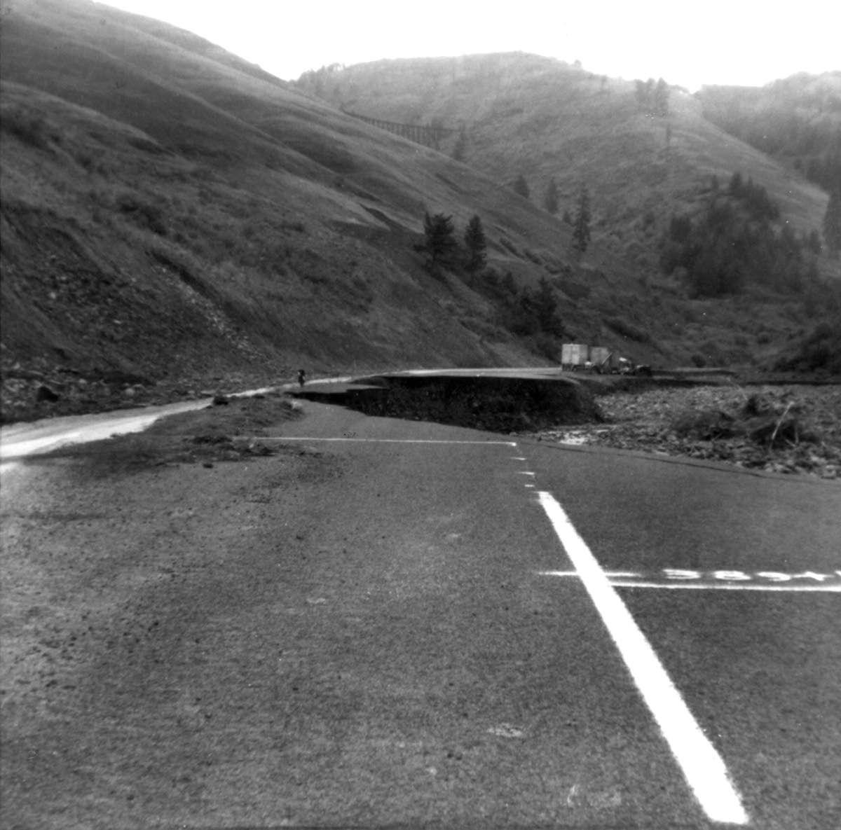 Blast from the Past / 1965: Flooding wrecks Highway 95