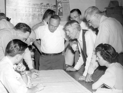 Blast from the Past / 1950: Primary election night in Lewiston