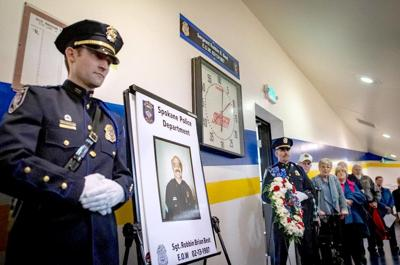 Fallen police sergeant gets 'long overdue' honor