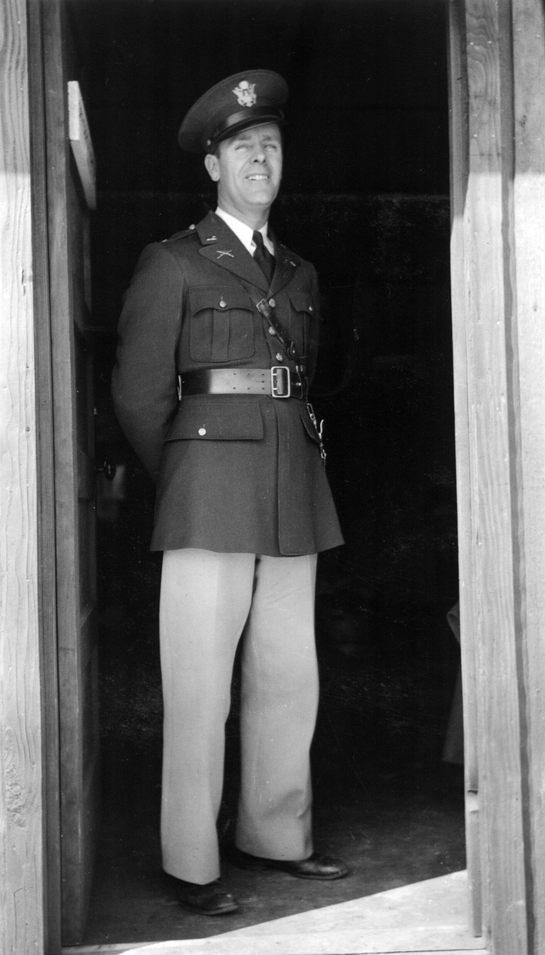Blast from the Past / 1935:  A guardman and his offspring