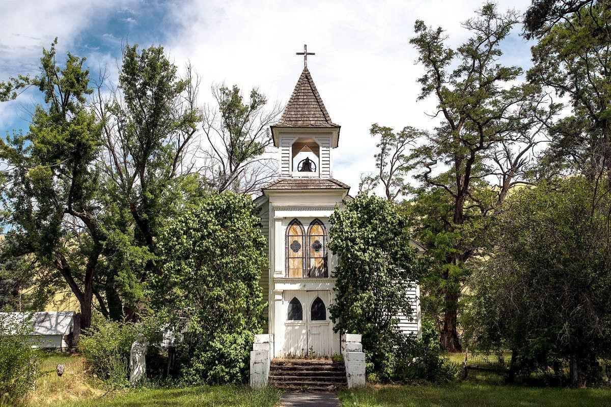What's happened to old St. Joseph's Mission Church?