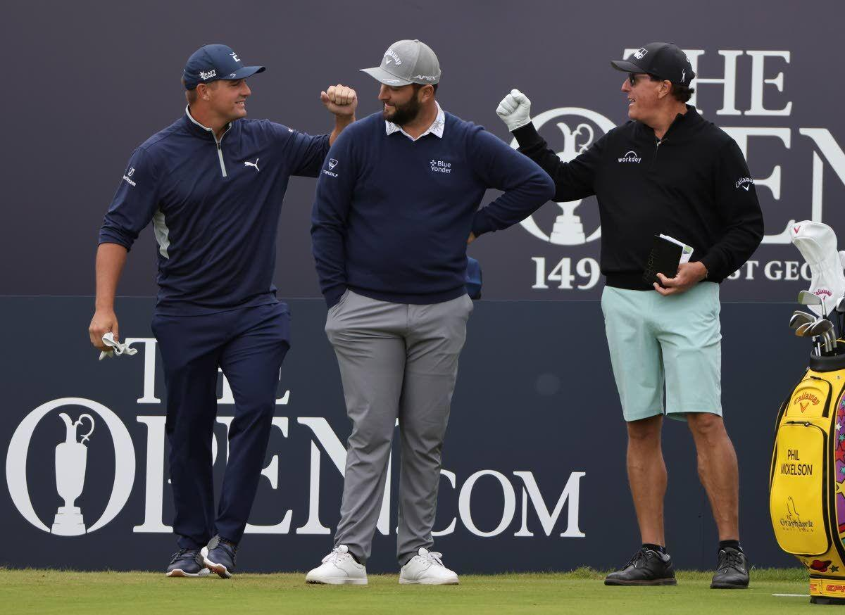 British Open is back, along with the quirks of links golf