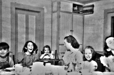 Blast from the Past / 1938: A moment of mirth at the table