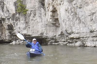 Kayaker, 87, on floating the Smith: 'It's a tricky river'