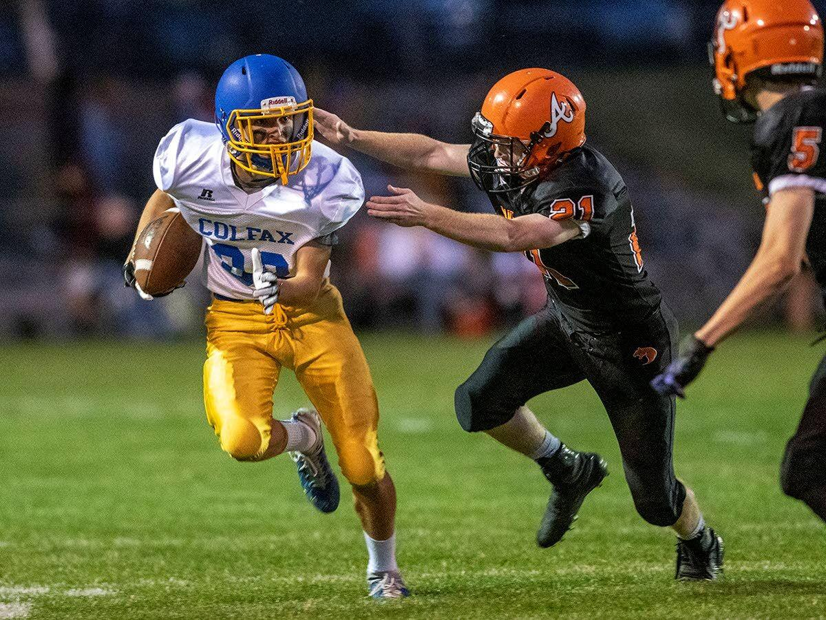 Gilchrist does it all to lead Colfax past Northeast 2B rival Asotin