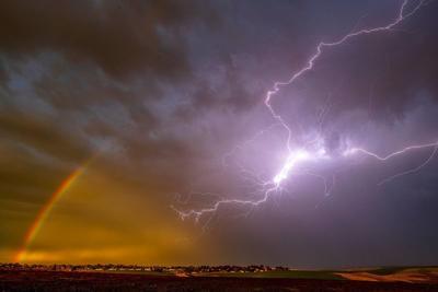 Rainbow, meet lightning