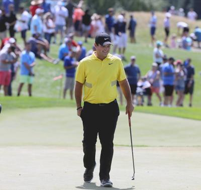 Reed, winless since his Masters title, takes lead