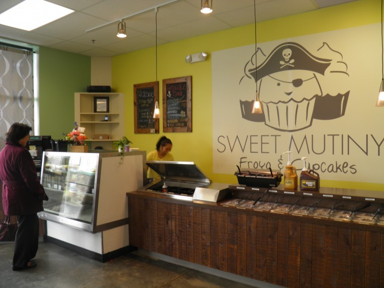 A Frozen Yogurt And Cupcake Store In Pullman