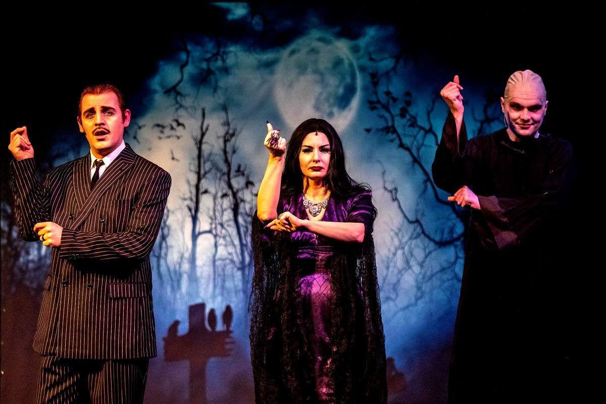 Strange, deranged, the Addams family