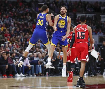 Warriors Bulls Basketball