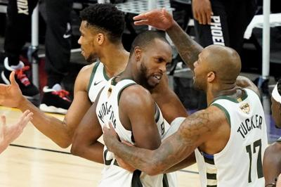 Bucks on the verge of 1st title in 50 years