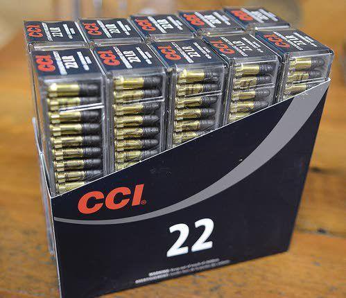 Plenty of ammunition