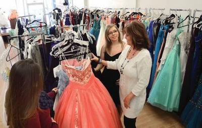 New Downtown Lewiston Shop Offers Formal Dresses Wedding Gowns